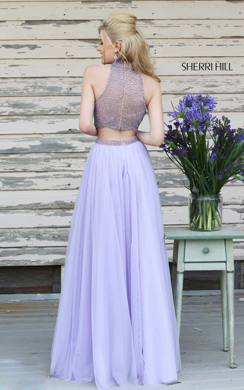 lilac sherri hill 11220 beads tulle prom dress 2015-1