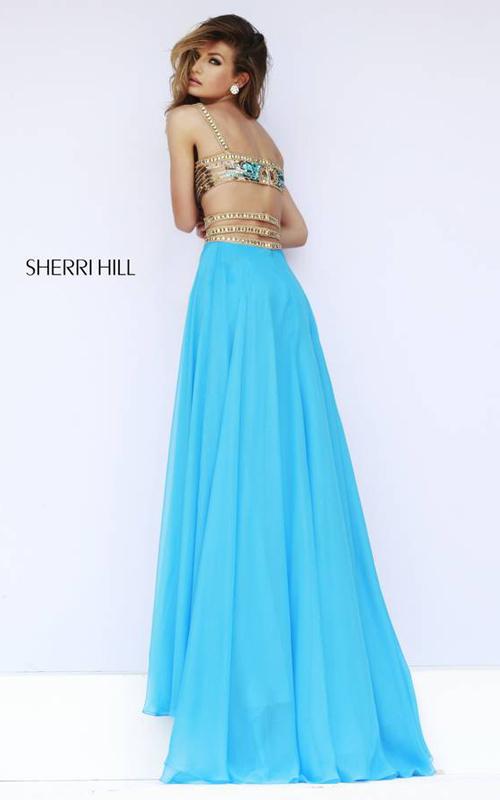 Blue Sexy Beads Prom Dress 2015 Sherri Hill 32134_01