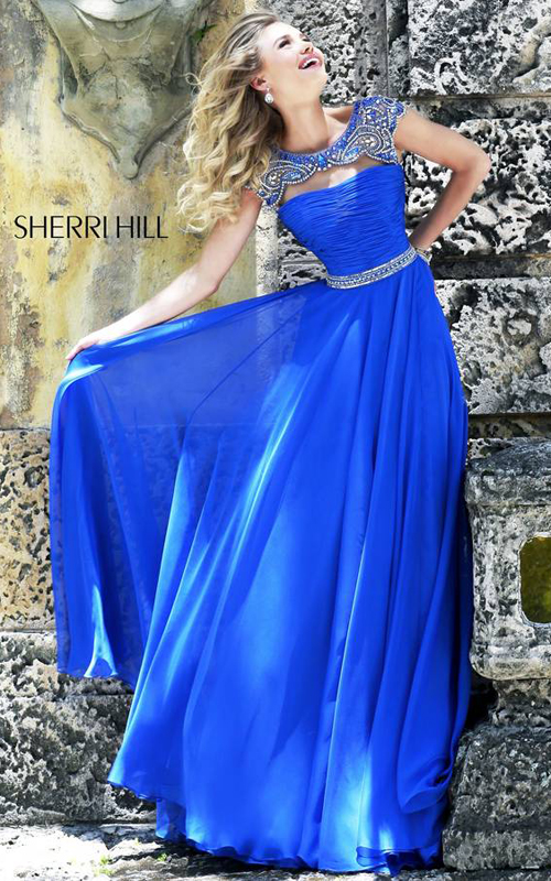 Sherri Hill 11181 Royal Long Ball Gown