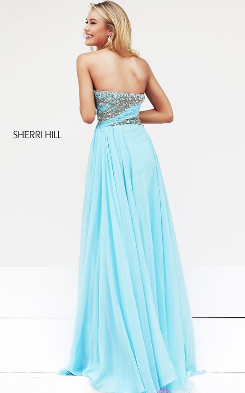 Aqua Prom Dress 2015 Sherri Hill 3914_01