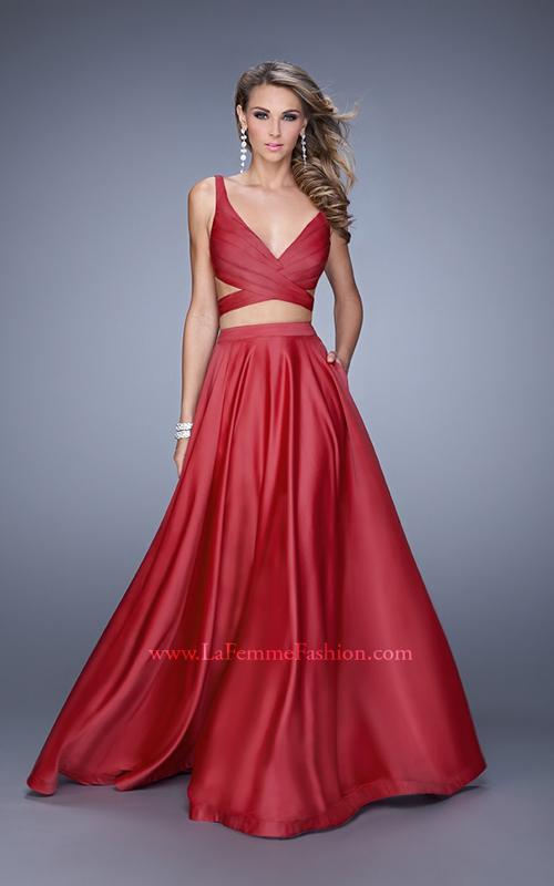 Crimson La Femme 21178 Two Piece Sexy Dress 2015