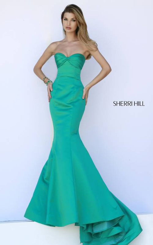 Mermaid Strapless Prom Dress Sherri Hill 32072