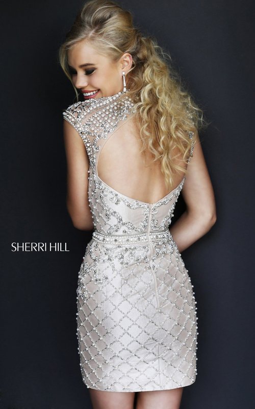 open back sexy homecoming dress 2015 Sherri Hill 4304_1