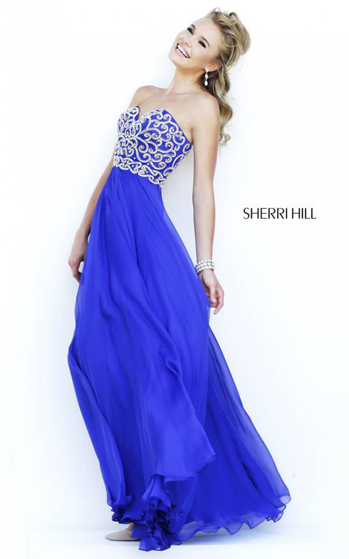 Royal Sherri Hill 8555 Sweetheart Evening Dress