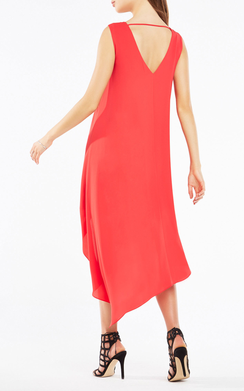 Asymmetrical Kaira Layered BCBG Red Carpet Dress 2016_1