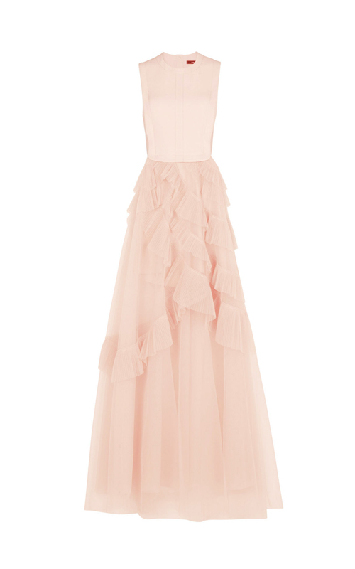 Avalon Sheer Sexy Cutout BCBG Princess Dress Pink 2016_3