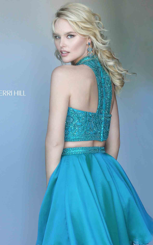 Jade Sherri Hill 50672 High Neck Two Piece Cocktail Dress_1