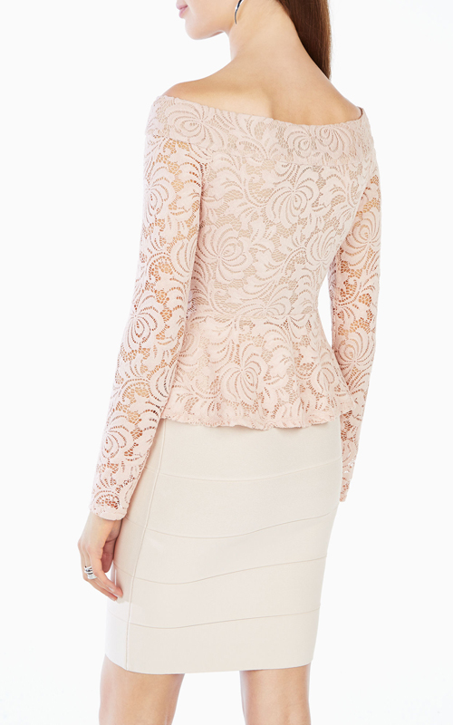 bare-pink-alea-bcbg-off-the-shoulder-lace-peplum-top_1