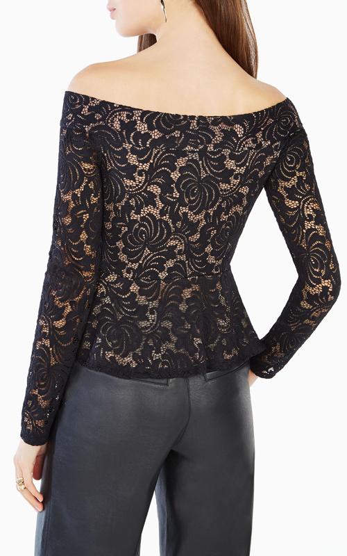 black-alea-off-the-shoulder-lace-bcbg-peplum-top_1